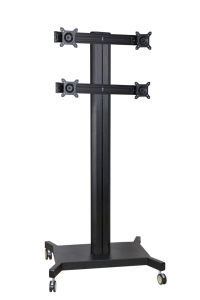 "Public TV Floor Stand 6-Monitor 10-24"" (AVD 004B) pictures & photos"