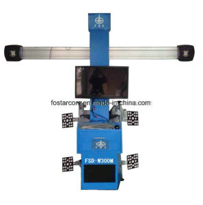 No Push Cart Type 3D Four Wheel Positioning Instrument: Fsd-W300m pictures & photos
