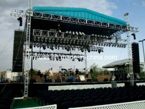 Aluminum LED Display Truss, Stage Lighting Truss Stand, Spigot or Bolt Roof Concert Truss System pictures & photos