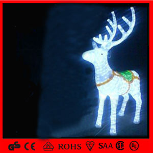 New LED Motif Light Christmas Decoration Reindeer pictures & photos