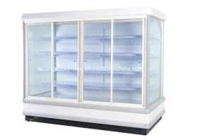 Display Chiller with Glass Door for Store pictures & photos