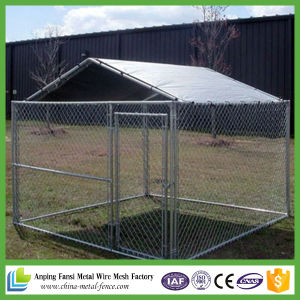 High Quality Wire Mesh Pet Product Square Dog Cage pictures & photos