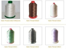 Rae White and Dyed Nylon Bonded Thread pictures & photos