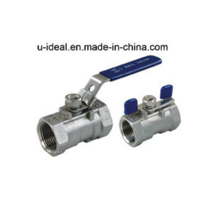 One PC Stainless Steel Ball Valve pictures & photos