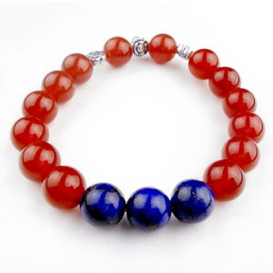 Semi Precious Stone Fashion Crystal Agate Bracelet Bangles Jewelry pictures & photos