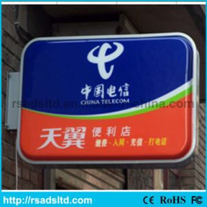 LED Acrylic Sucking Plastic Light Box Signboard
