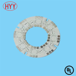 Round Aluminum Based PCB for LED Lamp pictures & photos