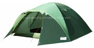 Popular Practical Double-Skin Camping Tent for 4 Persons (JX-CT019-1) pictures & photos