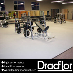 PVC Sports Flooring for Gym Weight Room pictures & photos