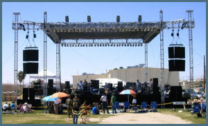 Easy Set up Stage Truss for Events pictures & photos