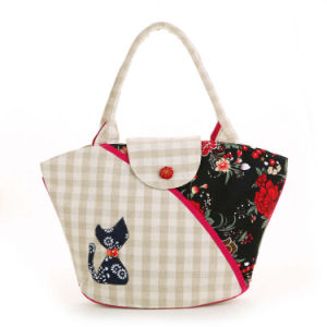 New Arrival Fabric Handbag OEM Order Is Available pictures & photos