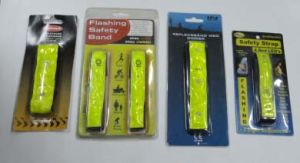 Reflective Straps With 4 LED Flashing Light (YLT-SS01) pictures & photos