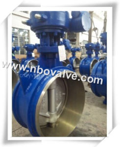 "PTFE Lined Welded Butterfly Valve (D47H-20"")"
