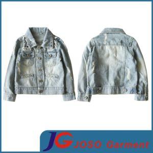 Garment Factory Wholesale Kids Denim Jacket (JT8015) pictures & photos