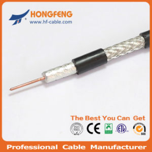 High Qualtiy 75 Ohms Low Db Loss RG6 Coaxial Cable pictures & photos