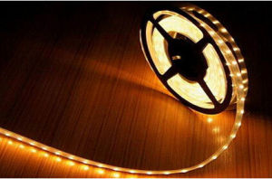 Yellow 24W 335 SMD Flexible RGB LED Strip IP67 Waterproof Roll LED Strip for Corridor Light pictures & photos
