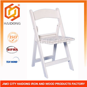 China Factory Wholesale White Resin Folding Chairs pictures & photos
