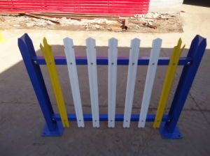 Powder Coated Palisade Fence Panel pictures & photos
