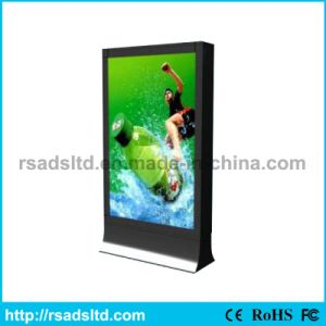Ce Quality Standing Scrolling Light Box Picture Signboard pictures & photos