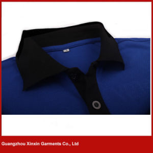 Custom Design Fashion Your Own Cotton Embroidery Polo Shirts Supplier (P28) pictures & photos