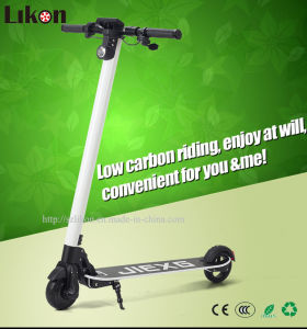 Jx-CF5 Carbon Fiber Electric Scooter in 24V, 10.8ah, 250W, 22km/H Top Speed, 6kg Only, New Choice of Lightweight Mobility Scooter, Easy Carrying.