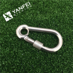 Stainless Steel Carbine Hook with Screw and Eye pictures & photos