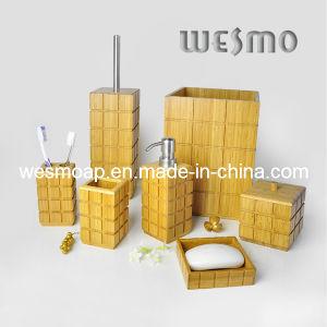 Carbonized Bamboo Bath Ensembles (WBB0469A) pictures & photos