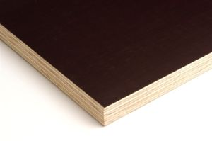 18mm Brown Film Faced Plywood-- Two Time Hot Pressed Plywood pictures & photos