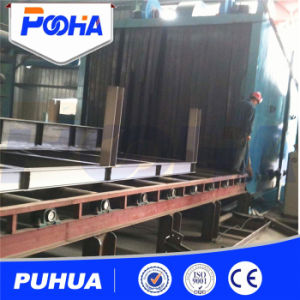 Roller Conveyor H Beam Shot Blasting Machine (Q69H) pictures & photos