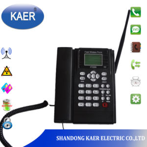 GSM Fixed Wireless Desktop Phone with SIM Card (KT1000-130) pictures & photos