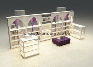 Perfume Stand, Cosmetic Display Rack, Cosmetic Kiosk pictures & photos