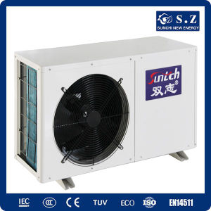 CE, TUV, En14511, Australia Certificate 60deg. C Dhw 220V Cop4.2 3kw, 5kw, 7kw, 9kw Air Conditioner Ductless Split Heat Pump Heater pictures & photos