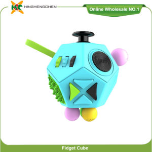 Promotional Product Popular Fidget Cube Anti Stress Cube Toy Multi Colors for Choose pictures & photos