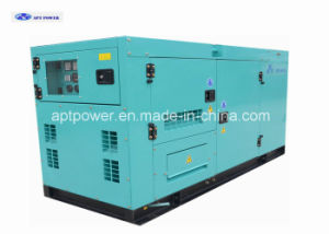 Isuzu Powered 30kVA Diesel Generator Silent Type with Power Switch pictures & photos