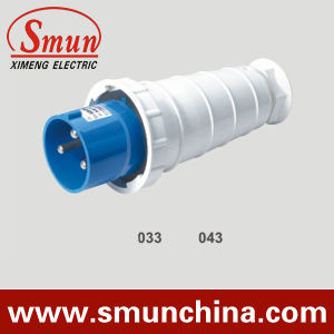 63A 220V Industrial Plug, 125A 3pin Male Electrical Plug, IP67 Industrial Plug and Socket pictures & photos