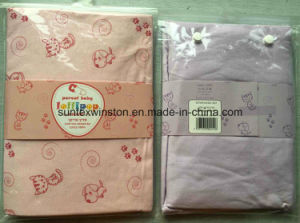 Baby Fitted Sheet 100% Cotton Jersey in Different Colors pictures & photos