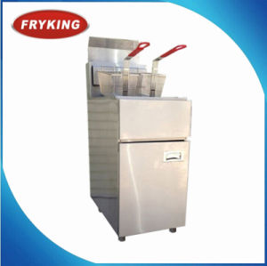 Free Standing Gas Open Fryer Stainless Steel Frying Machine pictures & photos