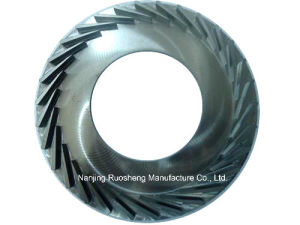 Round Stainless Steel Impeller for Space and Aeronautics Industry