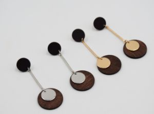 Fashion Simple Natural Wood Earring Fashion Jewellery pictures & photos