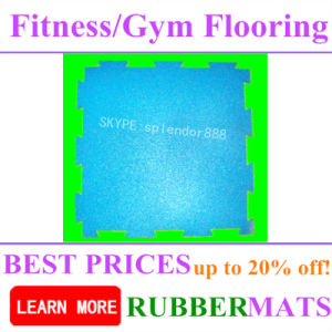 Tasteless Sports Speckled Rubber Flooring Gym Mat pictures & photos