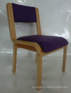Plywood Chair with Upholstery