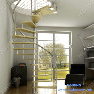 China Interior Exterior Modern Design Staircase Straight Spiral Stairs