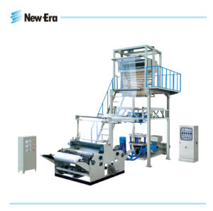 High Speed Rotary Head Film Blowing Machine with Embossing