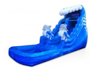 Tidal Wave Inflatable Slide (XZ-SL-029)