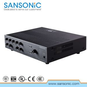 60W PA Sysytem Mixer Amplifier for Public (PAC60)