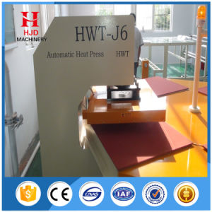 Mechanical 4-Position Heat Press Machine with Hjd-J601 pictures & photos