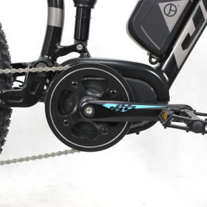 27.5′′ Bottle Battery MTB Full Suspension Mountain Electric Bicycle pictures & photos