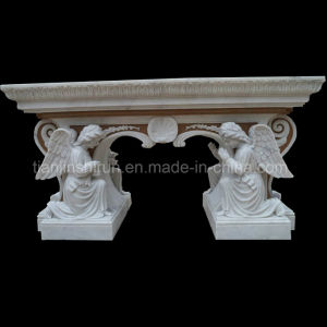Angel Sculpture Two Sides Carving Altar Bnh355 pictures & photos