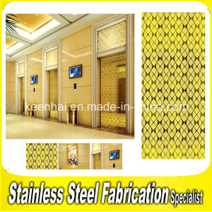 Interior Modern Color Coated Stainless Steel Wall Cladding Panels pictures & photos