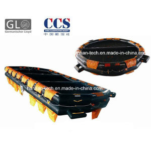 Black Lifesaving Inflatable Boat for 6p Approved by Solas (K6) pictures & photos